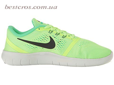 Женские кроссовки Nike Fre Run Lime