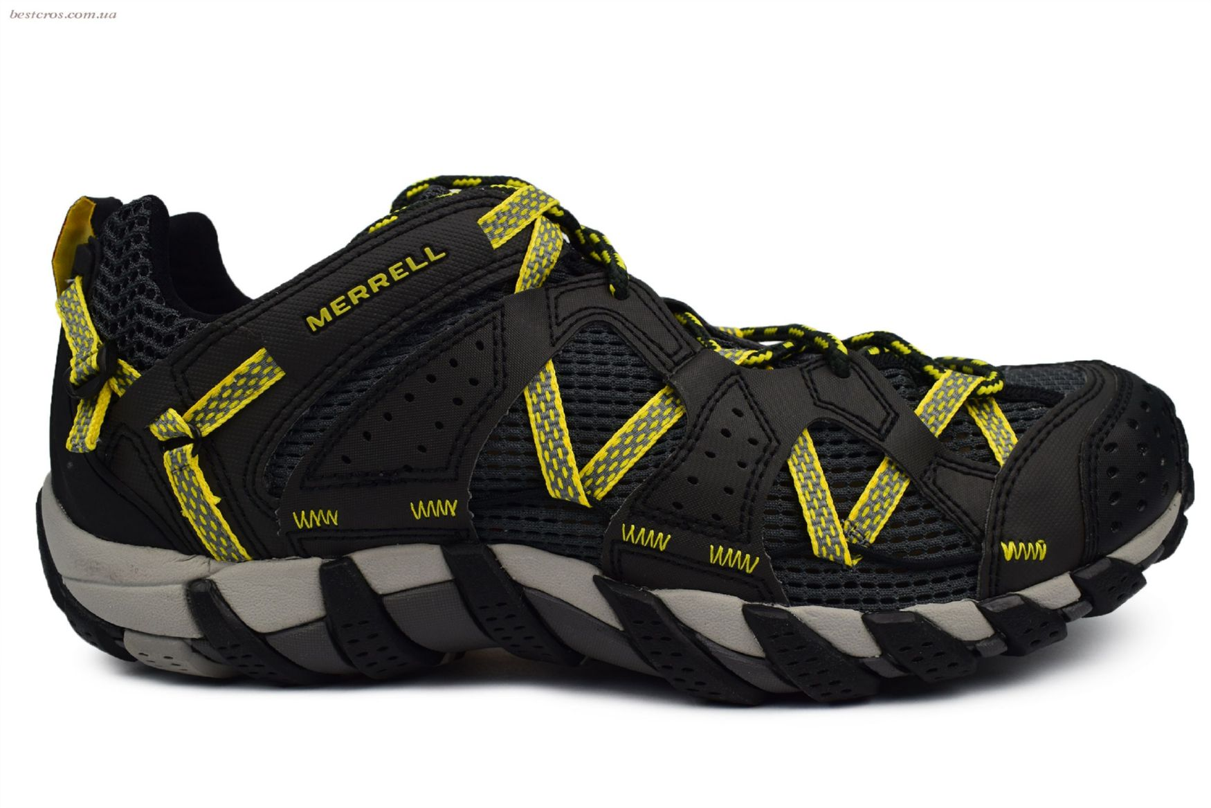 Мужские кроссовки Merrell Waterpro Maipo Black/Yellow