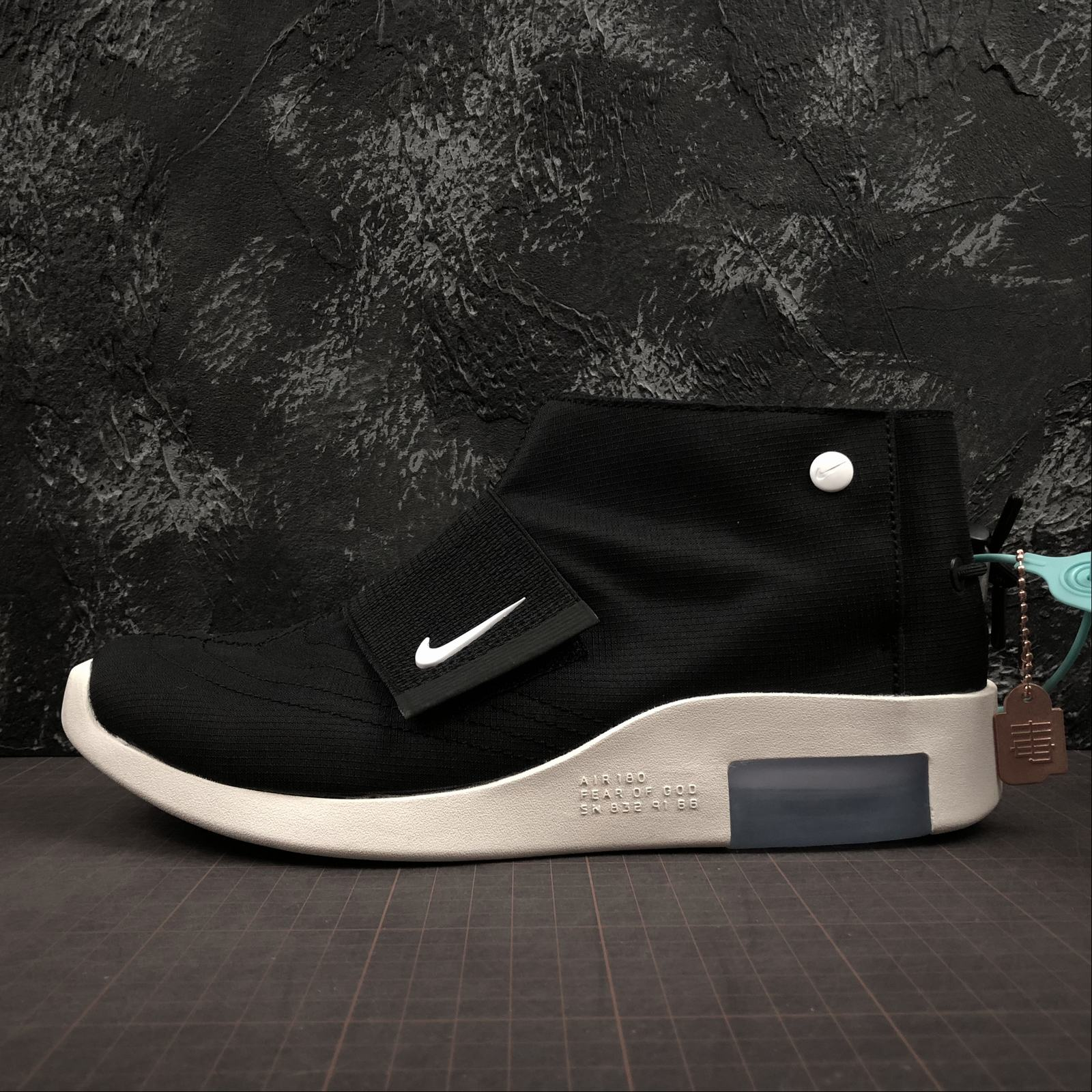Мужские кроссовки Nike Air Fear Of God Mid Men Black