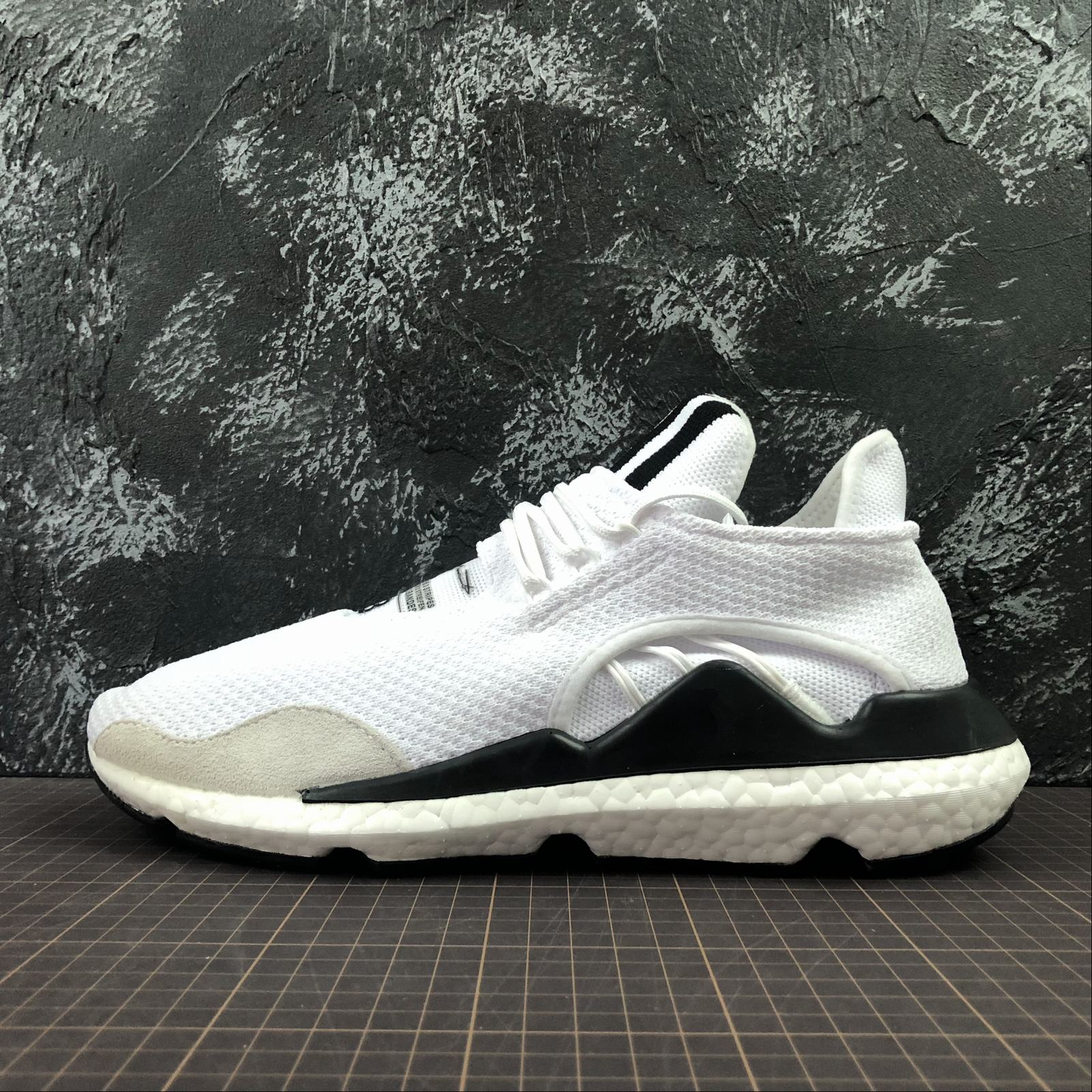 Мужские кроссовки Adidas Y-3 Saikou Boost Men White,Black,Black