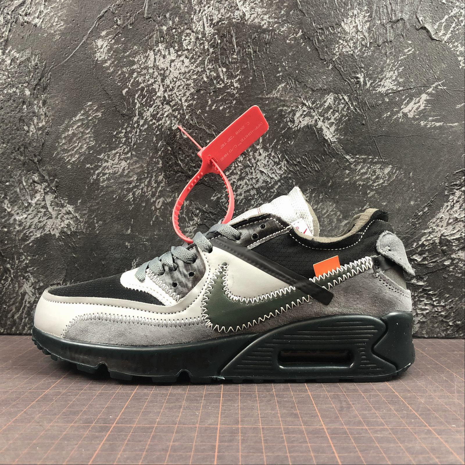 c1ab21b8 Мужские кроссовки Nike Air Max 90 x Off-White Men
