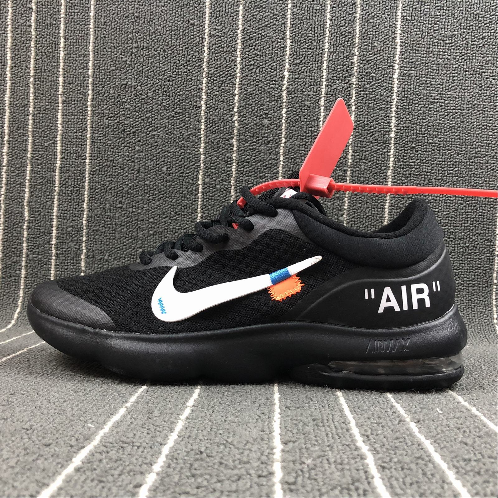 Мужские кроссовки Nike Air Max Advantage x Off-White Men Black
