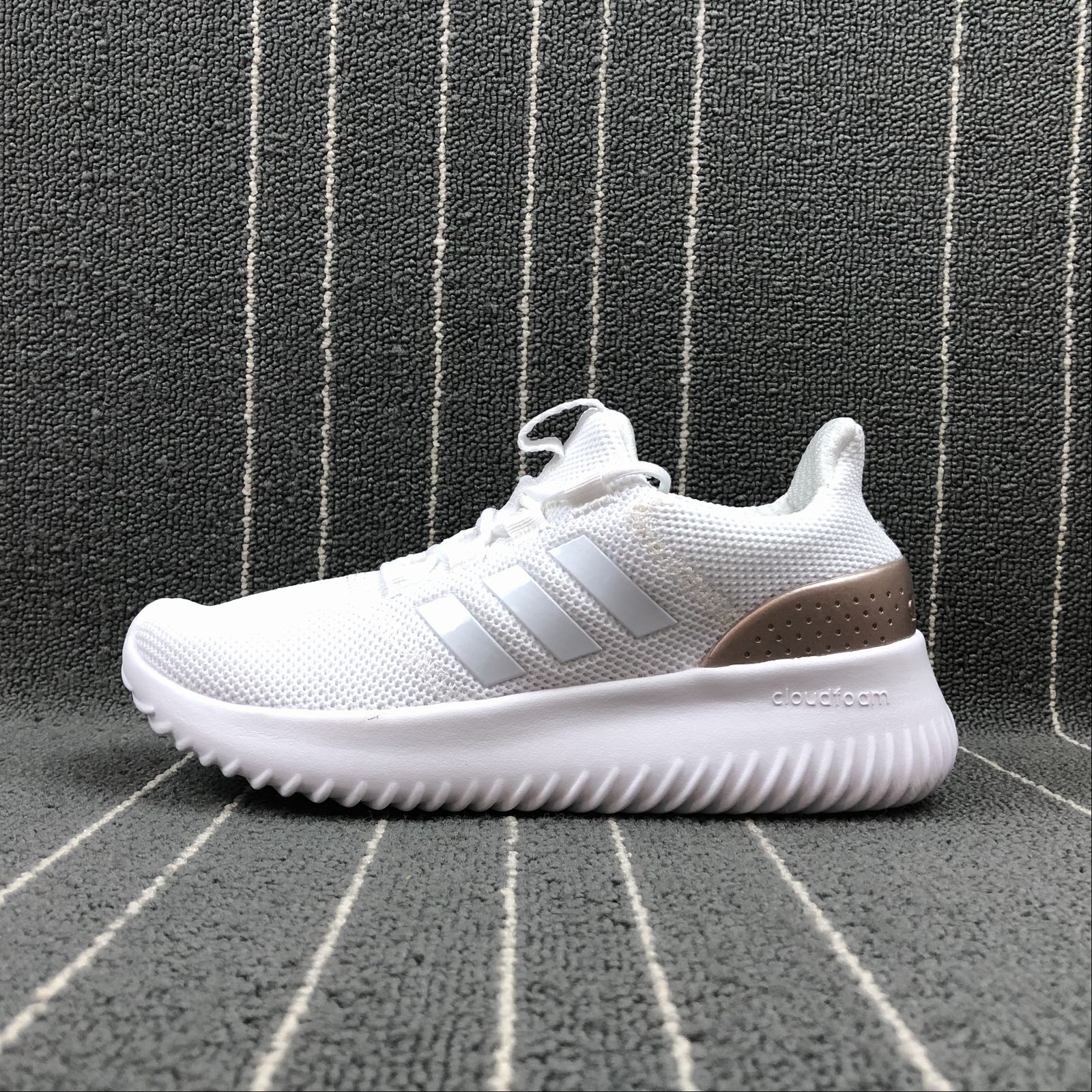Женские кроссовки Adidas NEO Cloudfoam Ultimate Women White,Gold,White