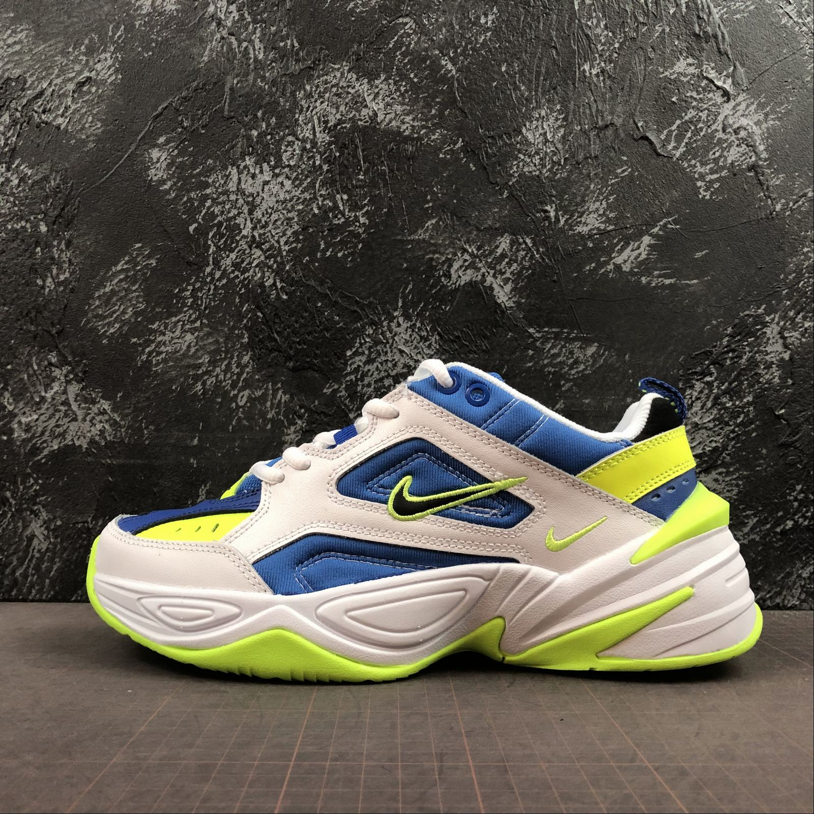Мужские кроссовки Nike M2K Tekno Men White,Blue,Yellow