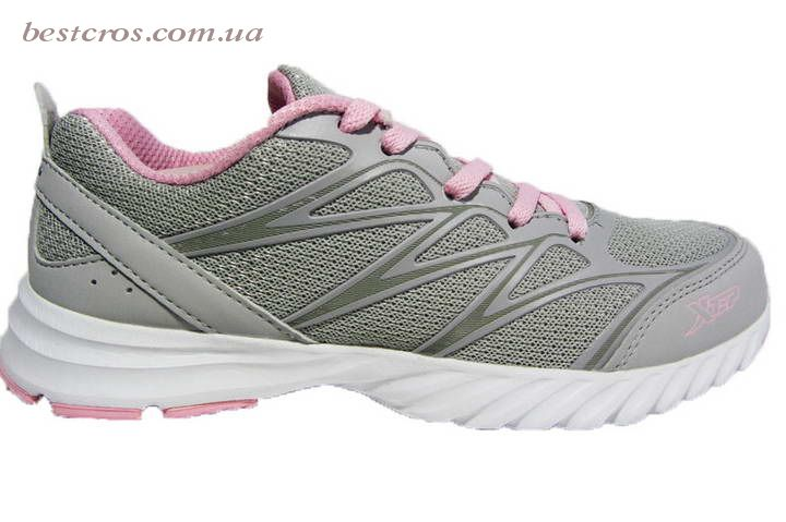 Женские кроссовки XTep Sports Shoes Light grey/Pink