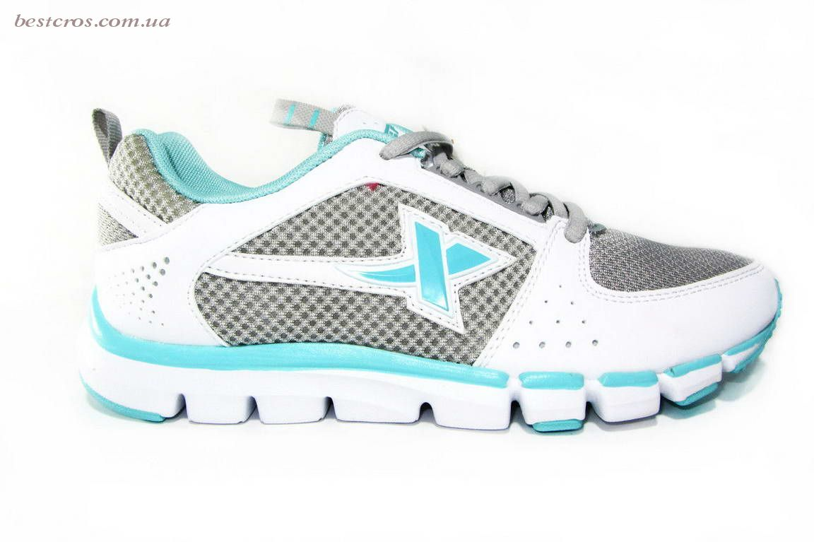 Женские кроссовки XTep Sports Shoes Grey/White/Blue