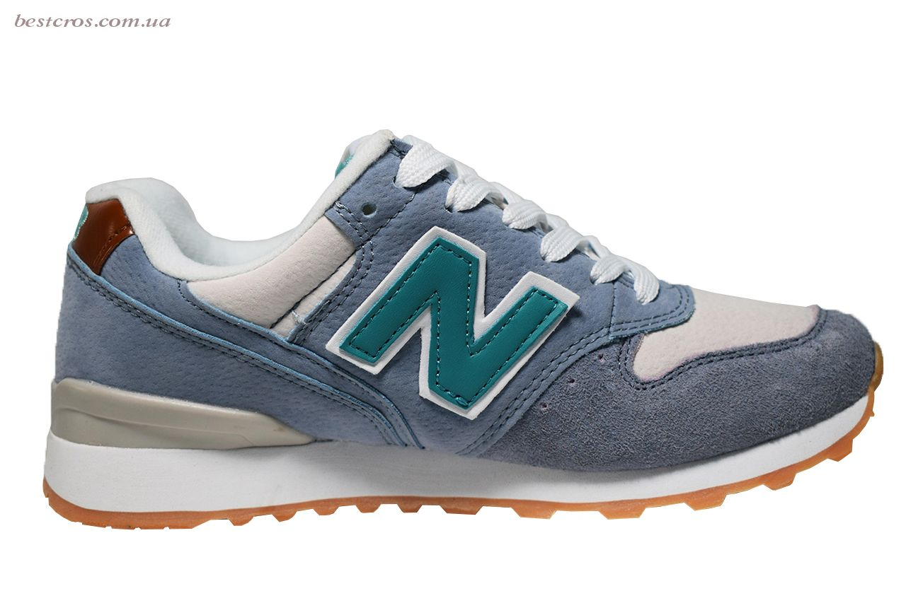 Женские кроссовки New Balance 576 Cream/Light blue/Grey