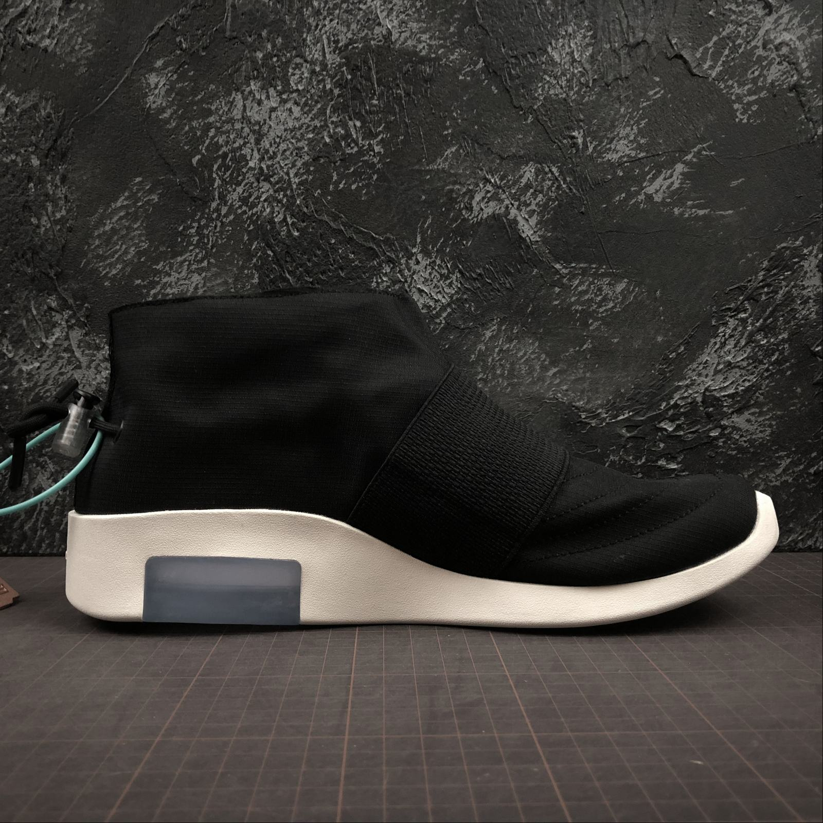 Мужские кроссовки Nike Air Fear Of God Mid Men Black - фото №2