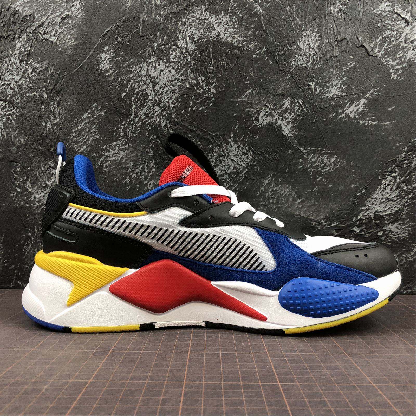 Женские кроссовки Puma RS-X Reinvention Women White,Blue,Blast - фото №2