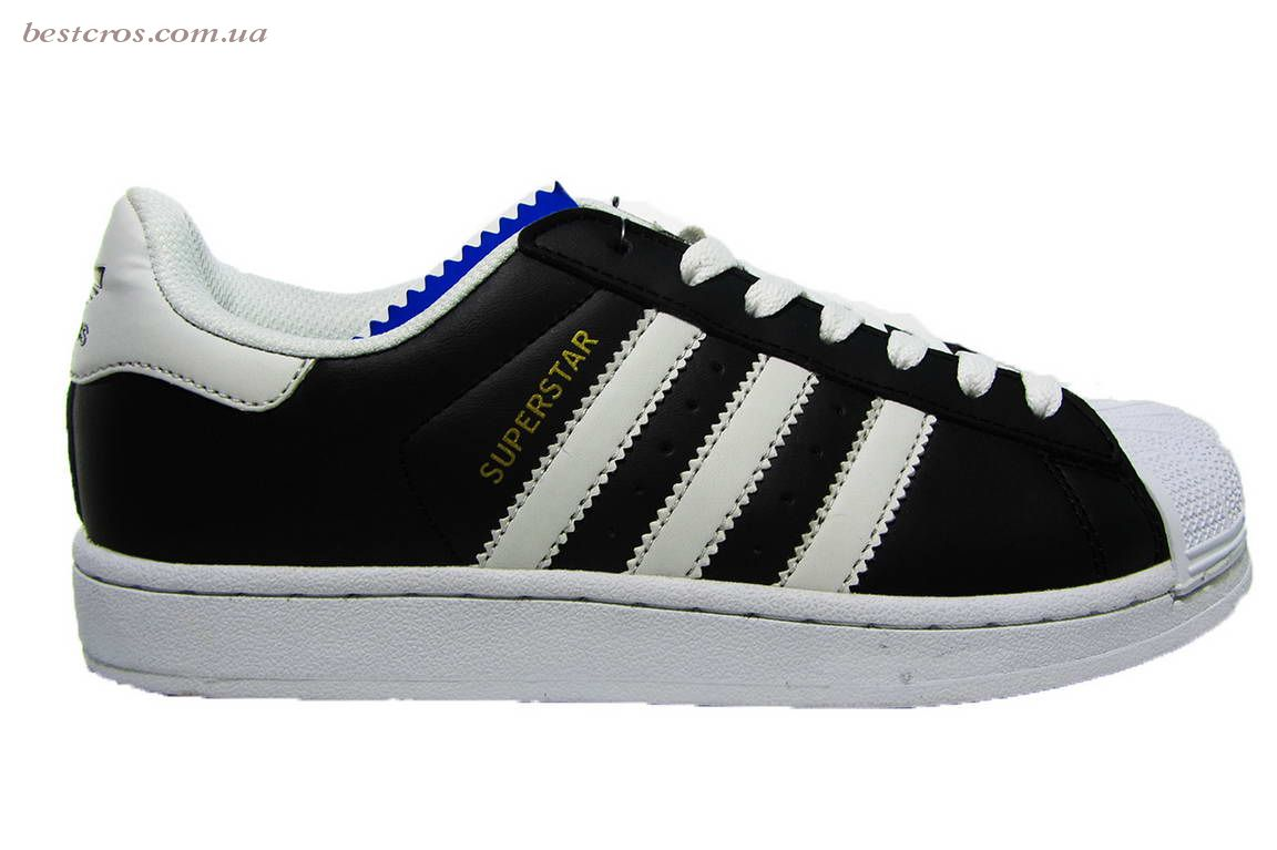 "13bc109909da06 Женские кроссовки Adidas Superstar ""Black/White"" S4056 купить в ..."