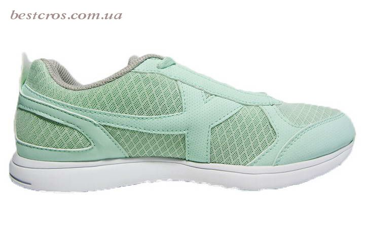 Женские кроссовки XTep Sports Shoes Light green/Grey - фото №2