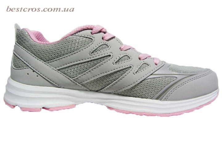 Женские кроссовки XTep Sports Shoes Light grey/Pink - фото №2