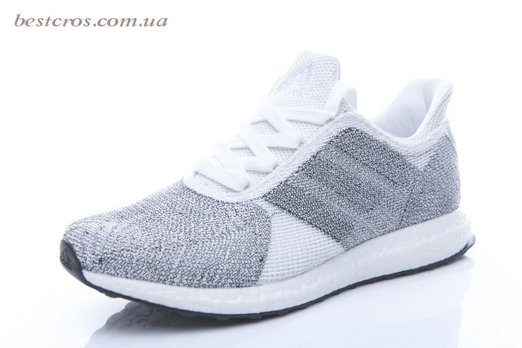 Мужские кроссовки Adidas Futurecraft Tailored Fibre Grey - фото №2