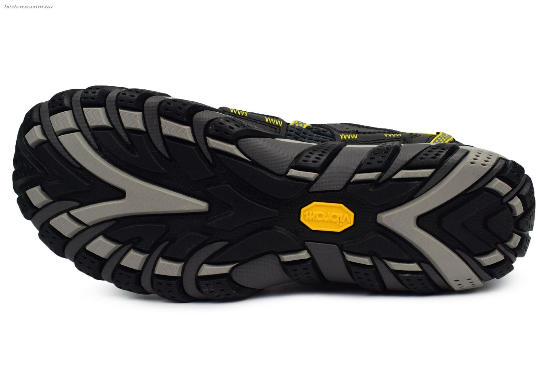 Мужские кроссовки Merrell Waterpro Maipo Black/Yellow - фото №3