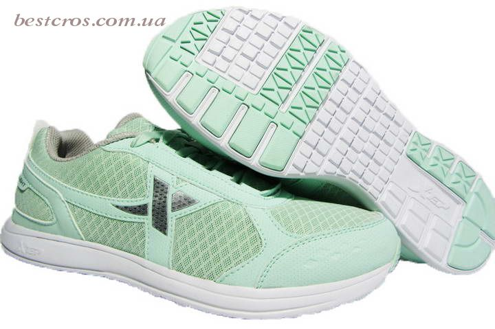 Женские кроссовки XTep Sports Shoes Light green/Grey - фото №3