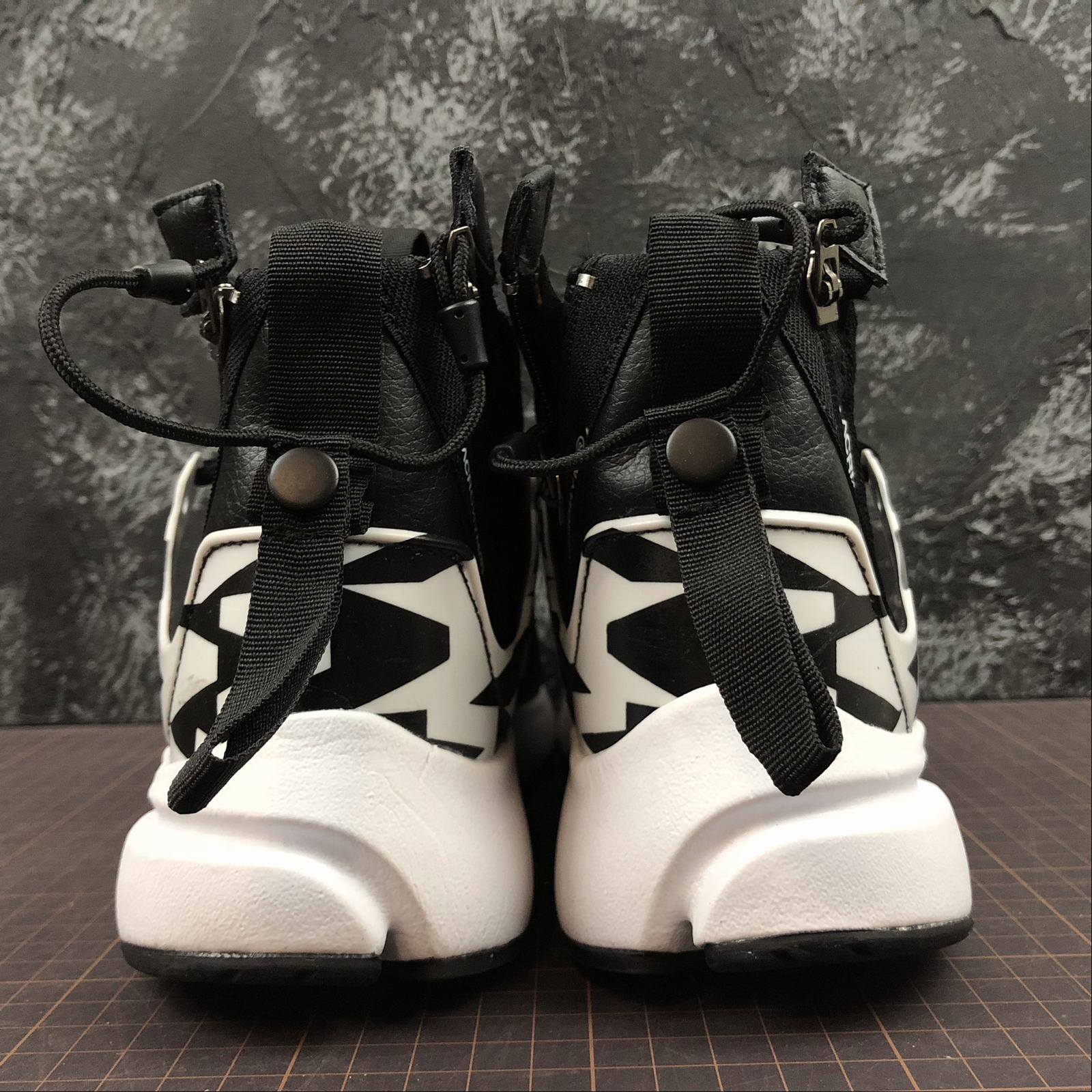 Мужские кроссовки Nike Air Presto Mid Acronym Men Black,White,Black - фото №4