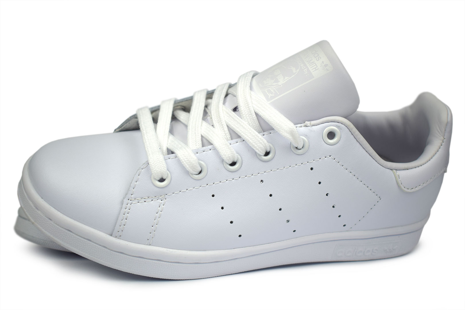 Женские кроссовки Adidas Stan Smith Women White,White - фото №4