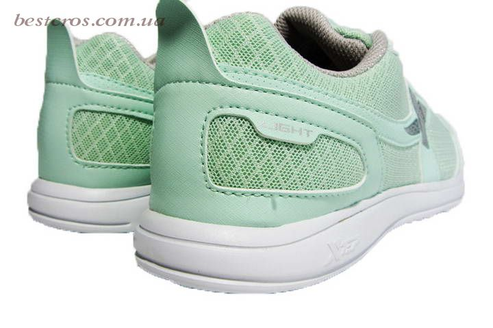 Женские кроссовки XTep Sports Shoes Light green/Grey - фото №4