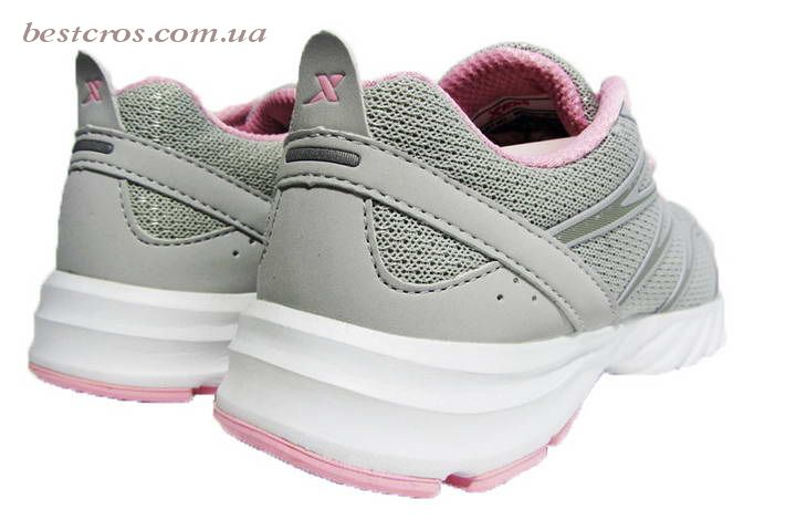 Женские кроссовки XTep Sports Shoes Light grey/Pink - фото №4
