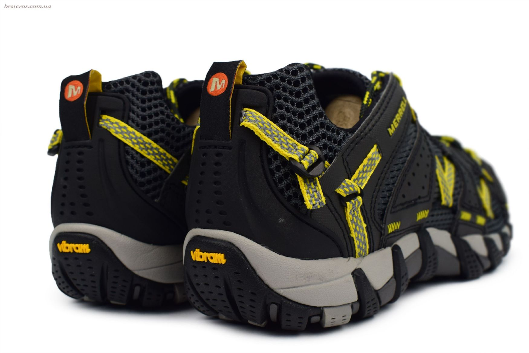Мужские кроссовки Merrell Waterpro Maipo Black/Yellow - фото №5