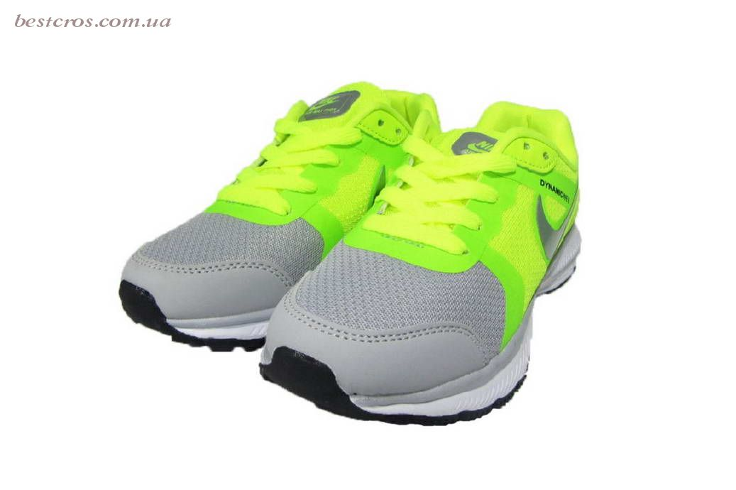 Женские кроссовки Nike Air Max THEA Light grey/Yellow  - фото №5