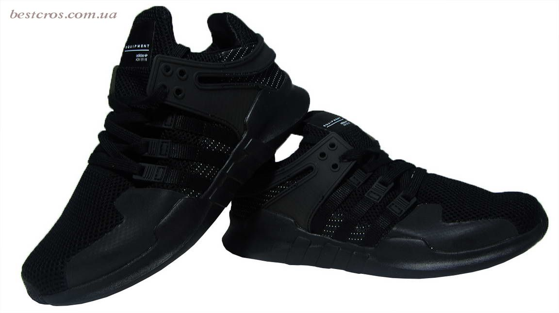 "Мужские кроссовки Adidas EQT Running Support x Consortium ""Black""   - фото №5"