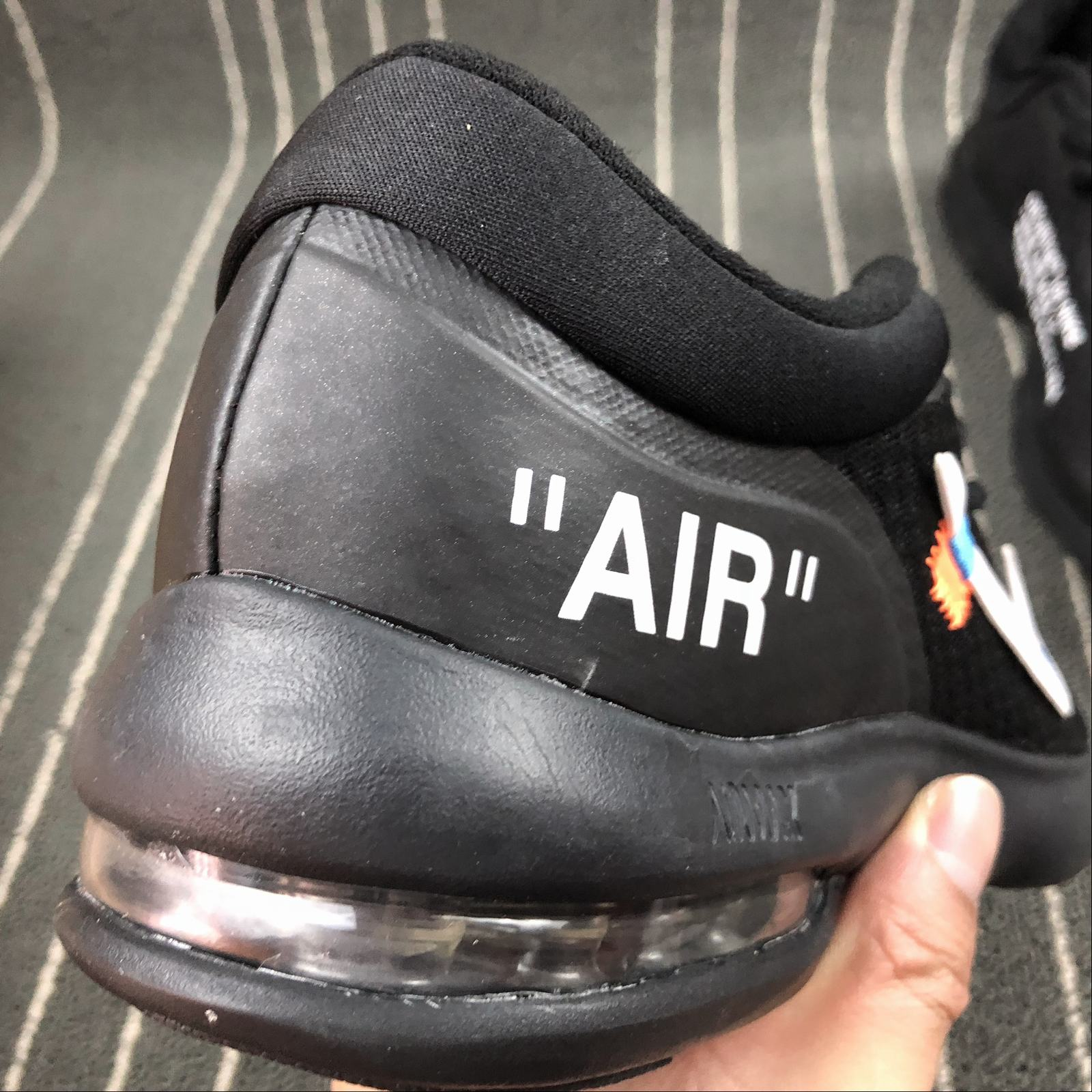 Мужские кроссовки Nike Air Max Advantage x Off-White Men Black - фото №7