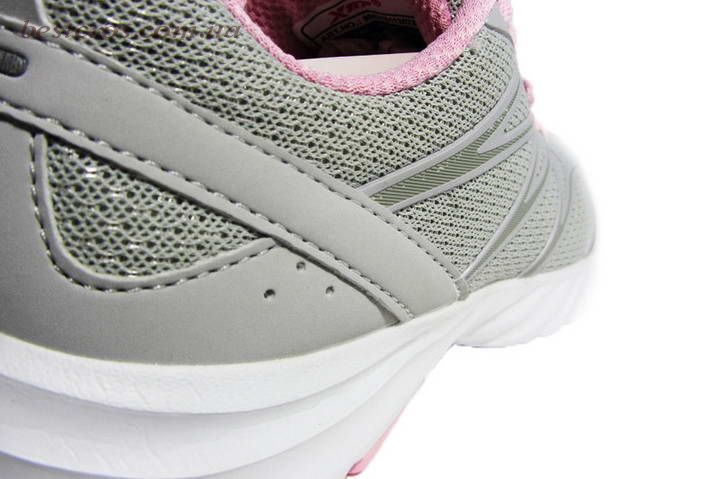 Женские кроссовки XTep Sports Shoes Light grey/Pink - фото №7