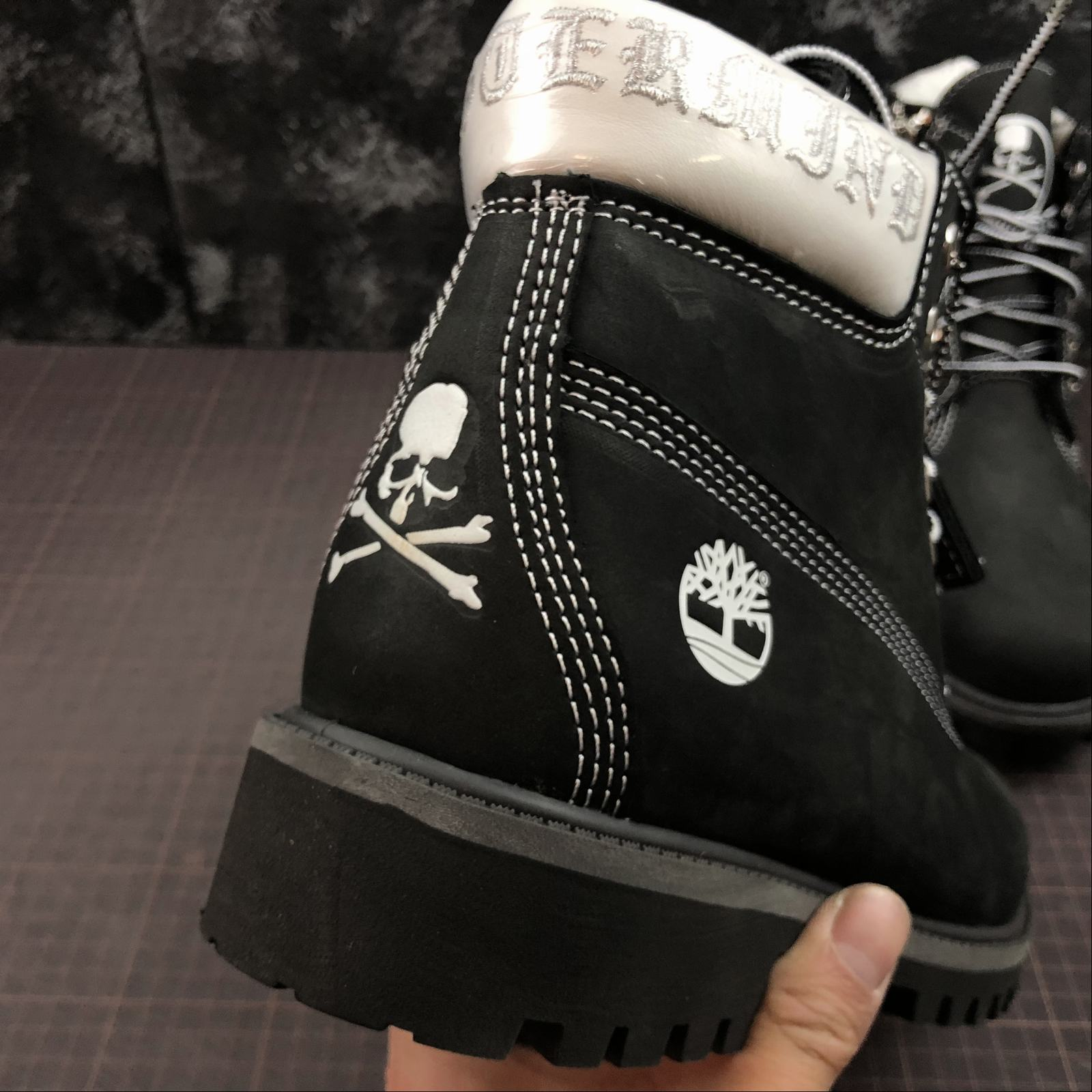 Зимние мужские ботинки Timberland x Mastermind Japan 5-Inch Zip Waterproof Boots Black - фото №9