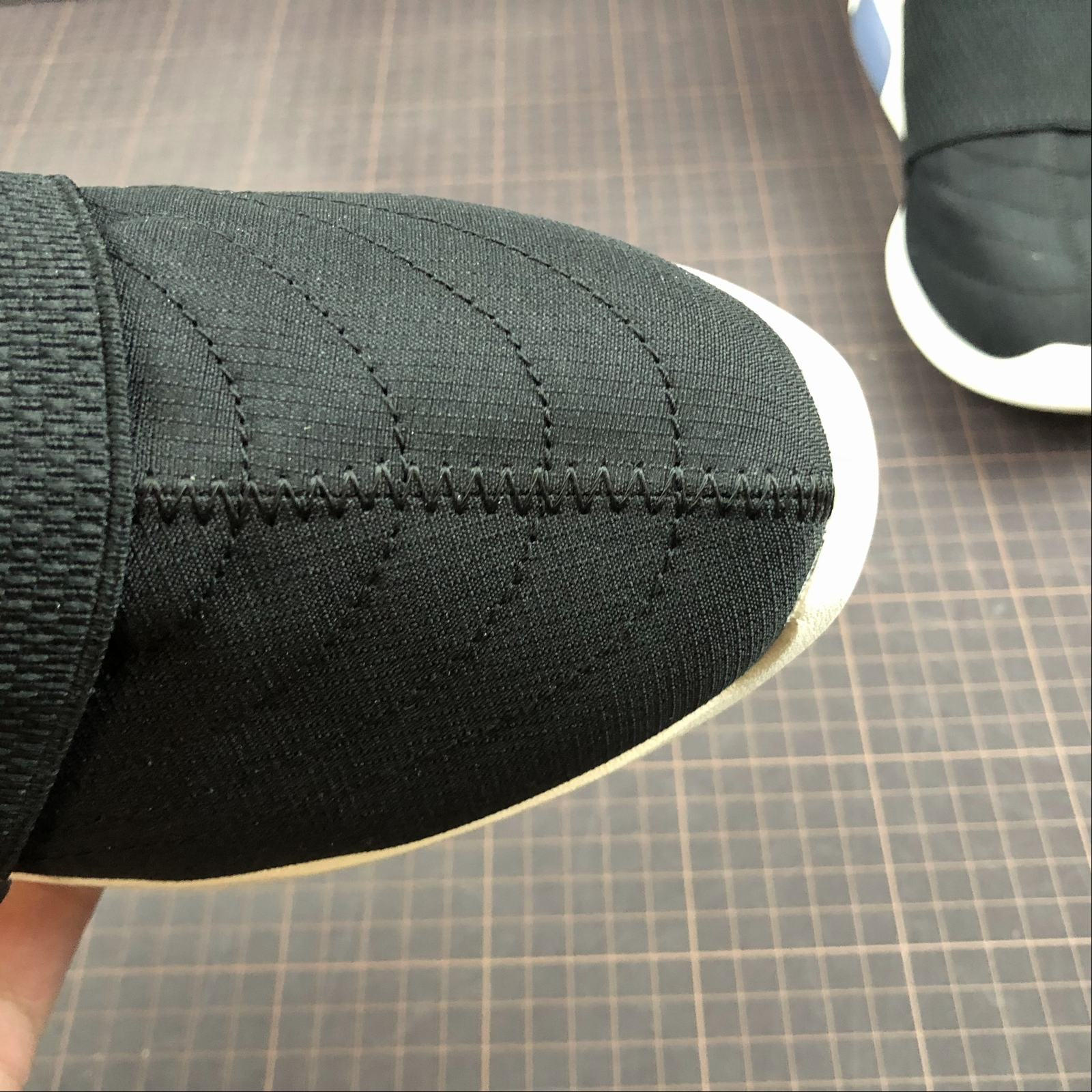 Мужские кроссовки Nike Air Fear Of God Mid Men Black - фото №9