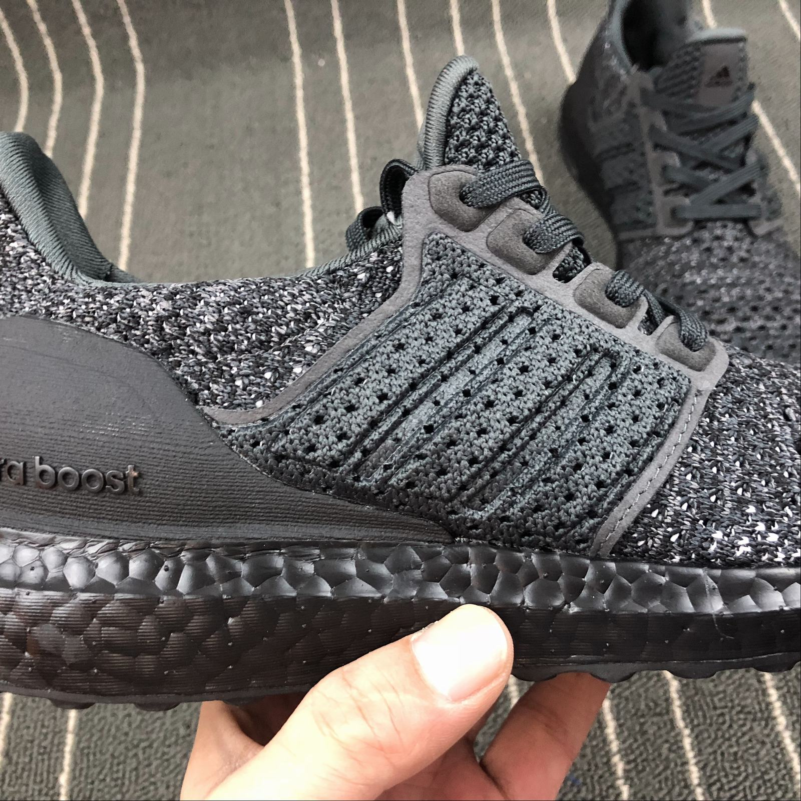 Женские кроссовки Adidas Ultra Boost UB4.0 Clima CQ0022 Women Black - фото №9