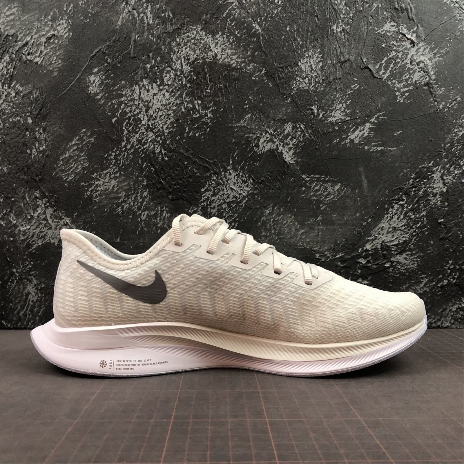 Мужские кроссовки Nike Zoom Pegasus Turbo 2 Men White,Grey - фото №2