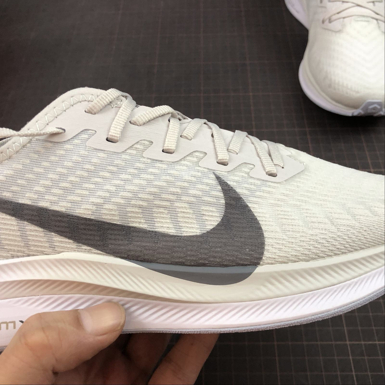 Мужские кроссовки Nike Zoom Pegasus Turbo 2 Men White,Grey - фото №8