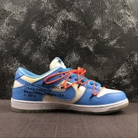 "Off-White x Futura x Nike Dunk Low Women ""Blue,White"""