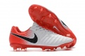 Nike Flyknit Tiempo Legend VII Elite FG White,Orange