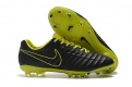 Nike Flyknit Tiempo Legend VII Elite FG Black,Lime