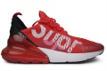 Nike Air Max 270 Supreme Women Red