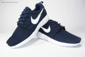 "Nike Roshe Run ""Dark black/White"""
