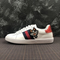 Gucci Ace Embroidered Dog Men