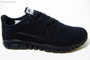 "Nike Free Run ""All Black"""