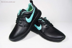 "Nike Roshe Run ""Black/Mint"""