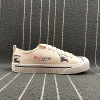 Burberry LF Kingly Arc Canvas Low-Top