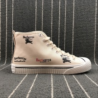 Burberry LF Kingly Arc Canvas High-Top