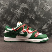 "Off-White x Futura x Nike Dunk Low Men ""Green,White"""